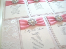 Lace Framed seating plan