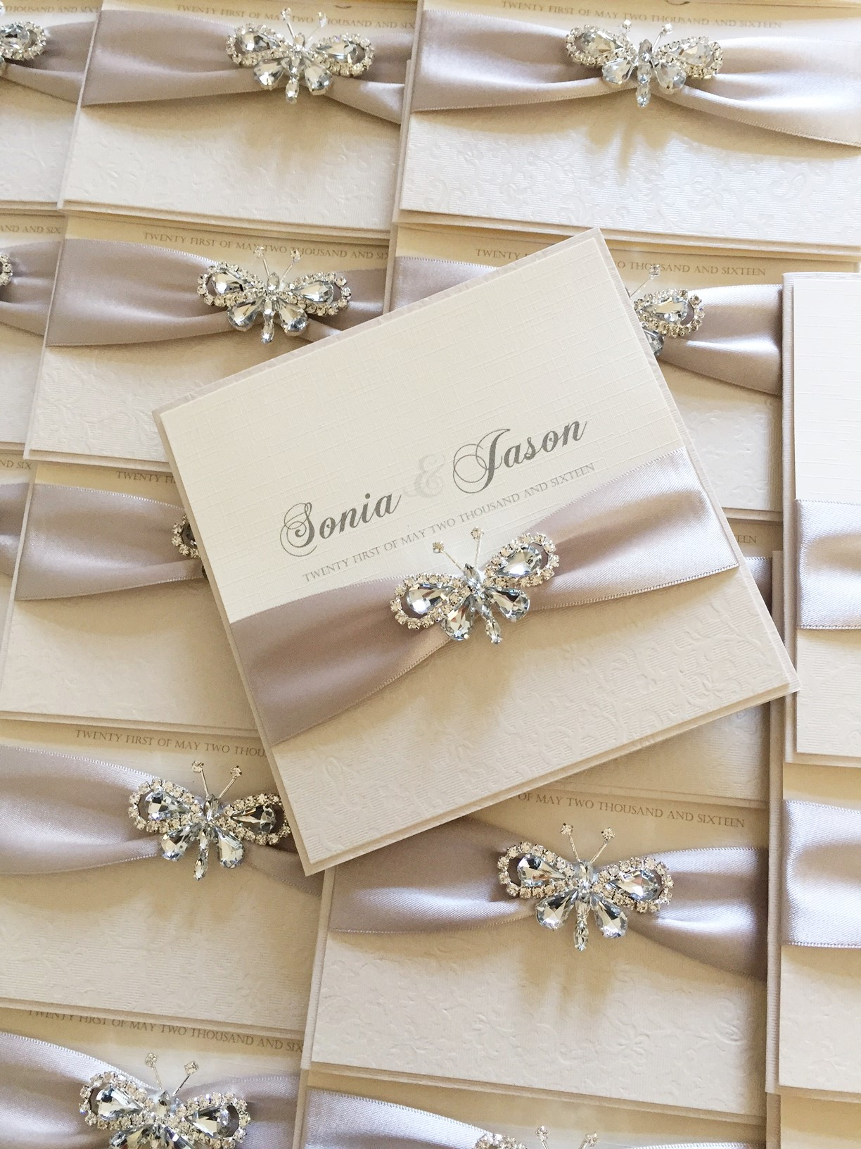 luxury diamante wedding invitations - 28 images - luxury vintage ...